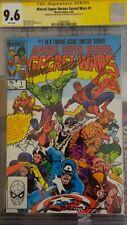 Marvel Super Heroes Secret Wars #1 CGC 9.6 Signed by Beatty & Zeck