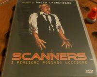 DVD FILM HORROR CULT MOVIE ANNI 80 DAVID CRONENBERG-SCANNERS 1,PENSIERI UCCIDONO