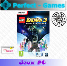 LEGO BATMAN 3 au-delà de Gotham  DC SUPER HEROES PC Games jeux neuf sous blister