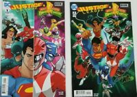 DC Comics Justice League/Mighty Morphin Power Rangers Comic Book Issues #1 #2
