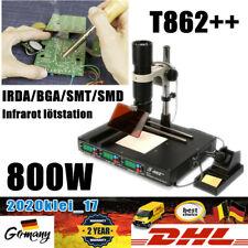 T862++ Infrared Lötstationen Lötstation IRDA SMT SMD BGA Rework Station 220V DHL