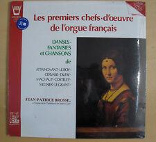 LES PREMIERS CHEFS-D'OEUVRE DE L'ORGUE FRANCAIS - LP