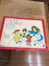 THE FINE-LINE COLORING BOOK, by Jeanne Wentzel, book 2