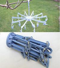 2 X Colgar Plegable Tendedero Secadores Para estática Caravan autocaravana Tienda