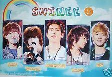 "SHINEE ""GROUP SHOTS UNDER A RAINBOW"" ASIAN POSTER - Korean Boy Band, K-Pop Music"