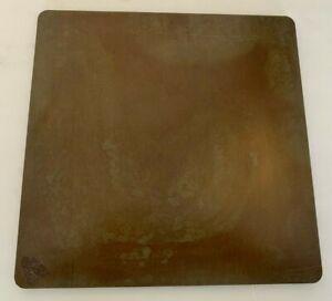 """1/2"""" Seasoned Steel Pizza Baking Plate, 1/2"""" x 13.5"""" x 20"""", Seasoned, A36"""