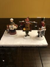 Vintage Heritage Dickens Village Series Dept 56 Portobello Road Peddlers ExCond