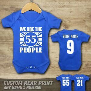 RANGERS - CHAMPIONS - 55 - WATP - Baby Vest Suit Grow