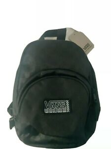 VANS Off The Wall GOT THIS MINI BACKPACK Travel Purse BLACK