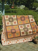 Autumn Maze Quilt Pattern Pieced JW