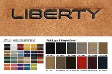 Lloyd Mats Jeep Liberty Custom Embroidered Velourtex Floor Mats (2002-2012)