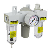 Pneumaticplus Heavy Duty Frl Mini Air Filter Regulator Lubricator Combo 14 Npt