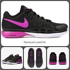 Nike Zoom Vapor 9.5 Tour Qs 631475-002 Reino Unido 7.5 EUR 42 USA 10 Federer Tenis Zapato