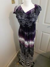 Monsoon multicolored dress size 8 UK in excellent condition