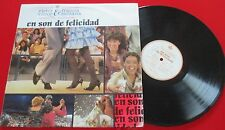 """Latin Bachata VICTOR VICTOR & FRANCIS SANTANA """"En Son De Felicidad"""" ORIGINAL LP"""