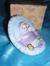 Enesco Growing Up Infant Baby in Cradle