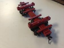 ULRICH COLLECTION On30 LOG CAR UNPAINTED KIT ALL METAL WITH TRUCKS LOGGING