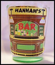 Shot Glass Hannah 's Bar New Barware Bartender Rescue Cocktail Recipe Mix Drink