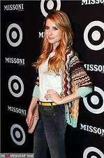 MISSONI Target New Sz M Knit Cardigan Sweater Blue Gold Brown Chevron Stripe