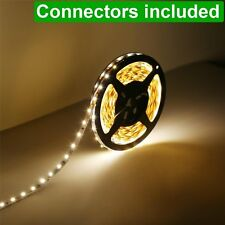 LE 5M Flexible 2835 SMD LED Strip Light 12V Tape Lamp Non-waterproof Warm White