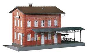 FALLER 110099 Railway Station Waldbrunn 9 7/16x4 29/32x5 5/16in New Boxed