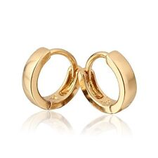 18 k Gold Plated Jewellery Small Baby Girls Hoops Earrings E527