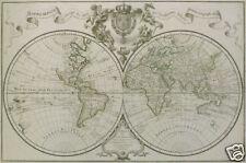 Mappemonde a l'usage du Roy par Guillaume de l'Isle .