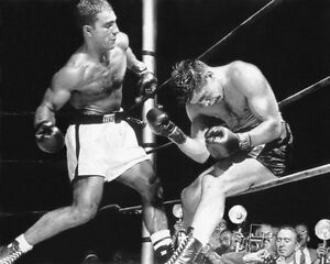 American Boxer ROCKY MARCIANO Glossy 8x10 Photo 'Knock-Out' Boxing Print Poster