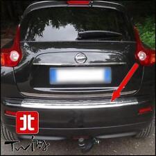 Protezione soglia carico Battivaligia cromata paraurti Nissan Juke in acciaio