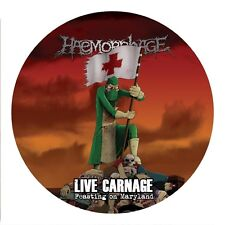 HAEMORRHAGE - LIVE CARNAGE: FEASTING ON MARYLAND  VINYL PICTURE LP NEU