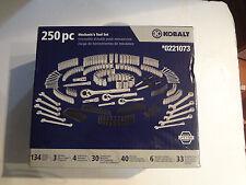 Kobalt 250-Piece Mechanic's Tool Set (#0221073) - New