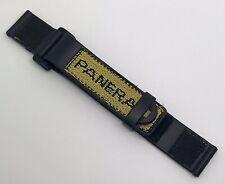Rare Authentic Panerai Diver Submersible Rubber 22mm Yellow Strap OEM MX002C7G