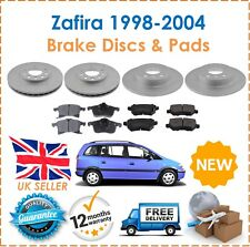 For Vauxhall Zafira MK1 1998-2004 LUCAS Front & Rear Brake Discs & Pads Set New