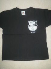 Boy's Black T-Shirt with GNFC logo age 3-4 years