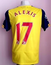 Arsenal 2008 - 2009 Away football shirt size M #17 Alexis