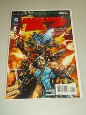TEAM SEVEN T7 #1 DC COMICS NEW 52 DECEMBER 2012 NM (9.4)