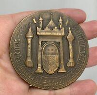 Luxembourg 1963 Millennium Festival Turner Lafevre  Bronze Medal - 81422
