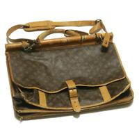 LOUIS VUITTON Monogram Sac Kleber Travel Bag M58122 LV Auth gt388