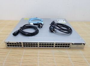 Cisco Catalyst WS-C3850-48U-E Stackable 48 10/100/1000Ethernet UPOE ports 2xPSU