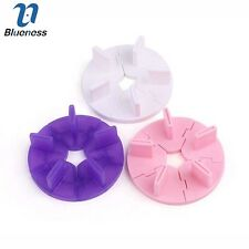 1Pc Removable Nail Art Tip Display Practice False Stand Holder Tool Color Random