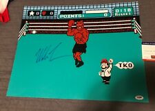 "Mike Tyson Signed 16x20 ""Punch Out"", PSA COA, Autographed"