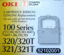 OKI 52102001 OKIDATA Microline 320 321 390 190 180 172 120 ML100 black Ribbon