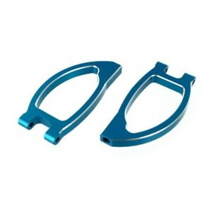 Redcat Racing Aluminum Front Upper Arms, Blue (2pcs)  08036B