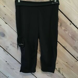 Pearl Izumi Womens Size Large Capri Cycling Pants Loose Baggy Pockets Biking