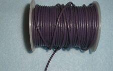 "14"" 2mm purple leather cord lanyard holder for sun reading glasses child petiye"