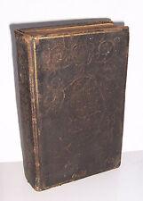 Dresdner Gesangsbuch auf höchsten Befehl 1840 Teubner Ledereinband !