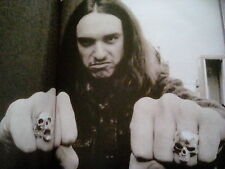 Metallica Cliff Burton Donington 1985 Picture from Book Printed 2003 to Frame?