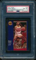 PSA 8 KENNY SMITH 1991-92 Fleer 3D Acrylic Wrapper Redemption #78 RARE NM-MINT