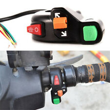 Universal Motorcycle ATV Switch Horn Turn Light Handlebar Dirt Bike Scooter LD
