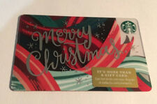 *STARBUCKS* Card - NEW Never Been Used 'Merry Christmas' 2018 Card NO $ Value